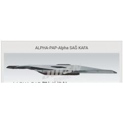 ALPHA-PAP-alpha sağ kafa