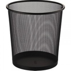 Çöp Kutusu 8.5litre siyah delikli